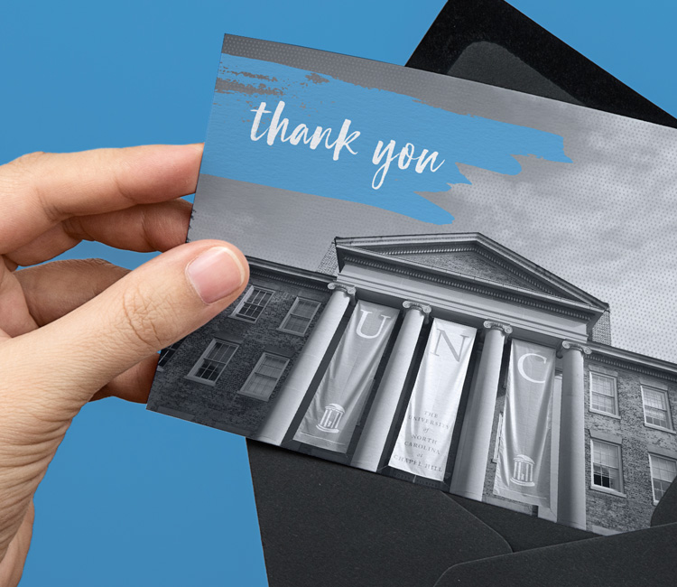 Acknowledgement Card and Envelope